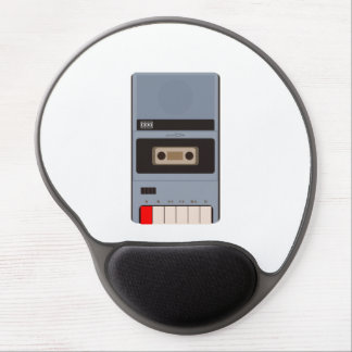 Cassette Tape Recorder Gel Mouse Pad