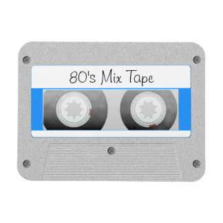 Cassette Tape Rectangular Photo Magnet