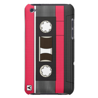 Cassette Tape Red iPod Touch Cases