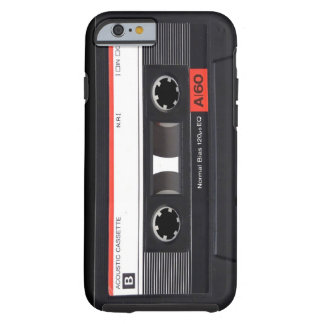 Cassette Tape Red iPhone 6 case Tough iPhone 6 Case