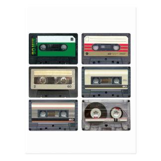 Cassette Tapes Postcards