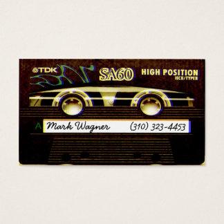 Cassette TDK Business Card