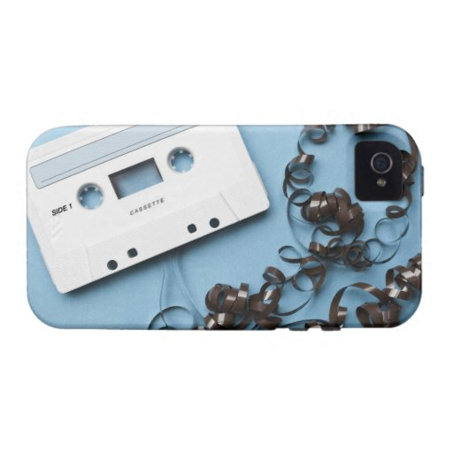 Cassette with Tangled Tape iPhone 4/4S Case