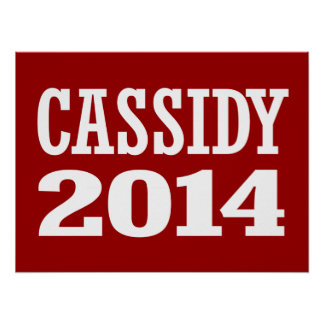 CASSIDY 2014 POSTERS