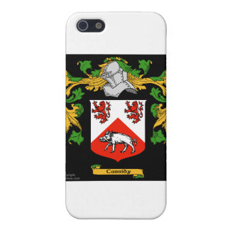 Cassidy Coat Of Arms - Family Crest iPhone 5/5S Case