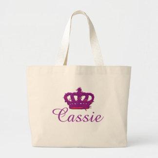 Cassie Crown Jumbo Tote Jumbo Tote Bag