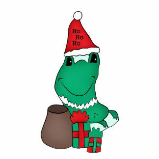 Cassie's cute Christmas frog large magnet Photo Sculpture Magnet