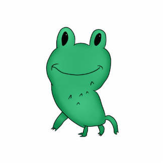 Cassie's frog cut out