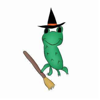 Cassie's Halloween Frog Cut Out