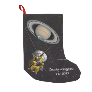 Cassini Huygens Mission to Saturn Small Christmas Stocking
