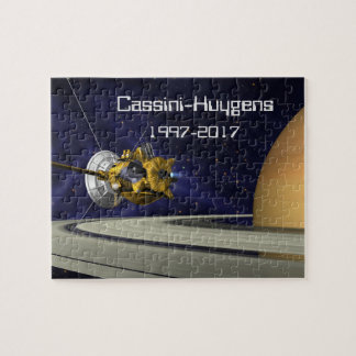Cassini Huygens Saturn Mission Spacecraft Jigsaw Puzzle