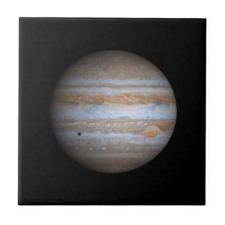 Cassini View of Jupiter NASA Small Square Tile