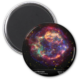 Cassiopeia A Death Becomes Her 6 Cm Round Magnet
