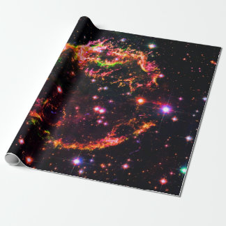 Cassiopeia A Nebula Supernova Remnant Space Photo Wrapping Paper
