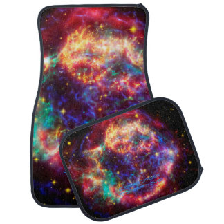 Cassiopeia, Milky Ways Youngest Supernova Car Mat