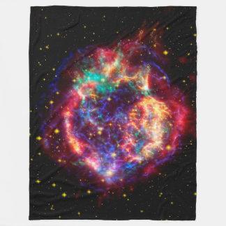 Cassiopeia, Milky Ways Youngest Supernova Fleece Blanket