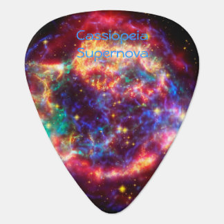 Cassiopeia Milky Ways Youngest Supernova Guitar Pick