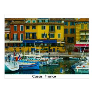 Cassis, France Postcard