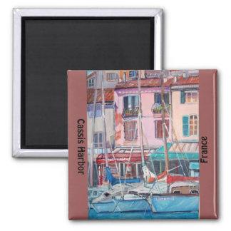 Cassis harbor - Magnet