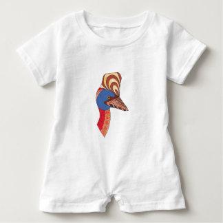 Cassowary Baby Bodysuit