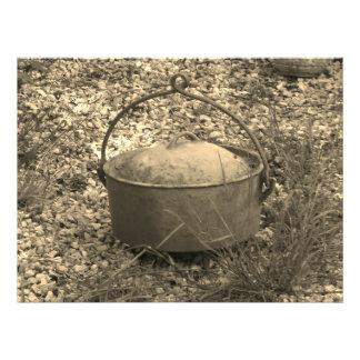 cast iron farm pot photo print