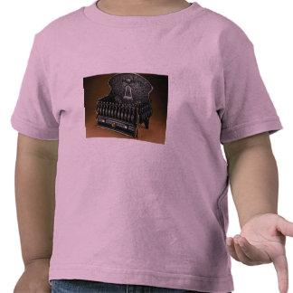 Cast iron fire basket, high back tshirts