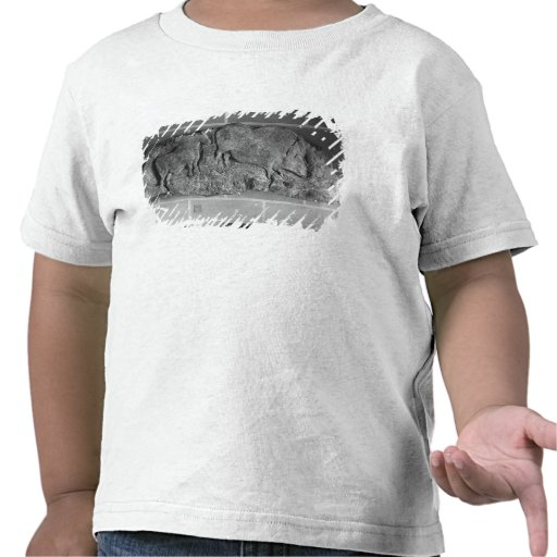 Cast of a frieze of animals from Le Roc de Sers T-shirts
