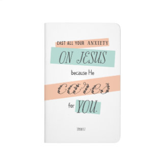 Cast Your Anxiety on Jesus Pocket Journal