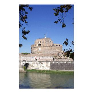 Castel Sant Angelo Customized Stationery