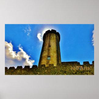 Castello di Malgrate Rapunzel Tower, Poster Print