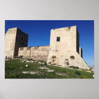 Castello di San Michele cagliari Poster