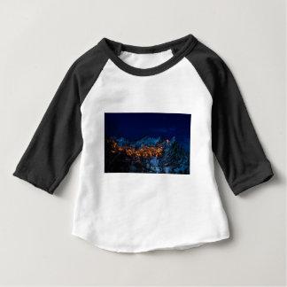 Castelmezzano Italy At Night Baby T-Shirt
