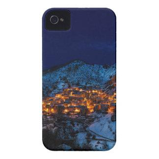 Castelmezzano Italy At Night Case-Mate iPhone 4 Cases
