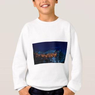 Castelmezzano Italy At Night Sweatshirt