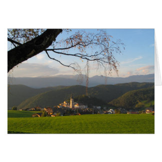 Castelrotto Italy Card