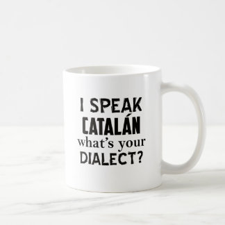 Castilian language designs coffee mug