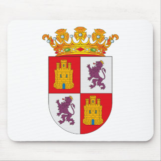 Castilla Y Leon Coat of Arms Mousepad