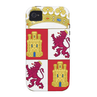 Castilla y Leon (Spain) Coat of Arms iPhone 4 Covers