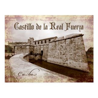 Castillo de la Real Fuerza, Havana, Cuba Postcard
