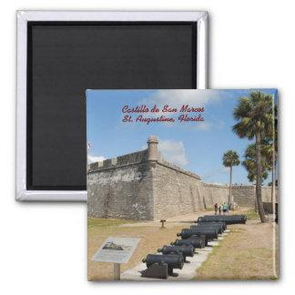 Castillo de San Marcos Magnet