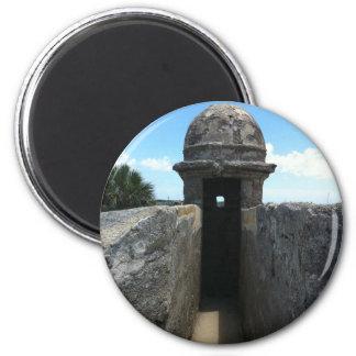 Castillo de San Marcos Turret, St. Augustine, FL Magnet