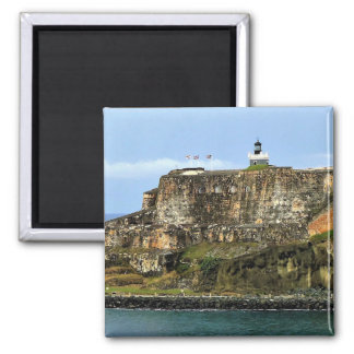 Castillo San Felipe del Morro Lighthouse Magnet