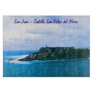 Castillo San Felipe del Morro - Old San Juan Forts Cutting Board
