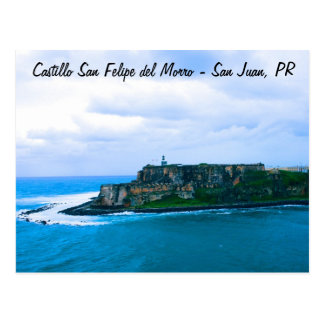 Castillo San Felipe del Morro - Old San Juan Forts Postcard