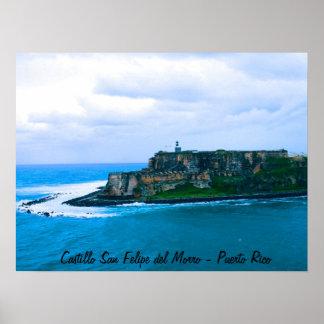 Castillo San Felipe del Morro - Old San Juan Forts Poster
