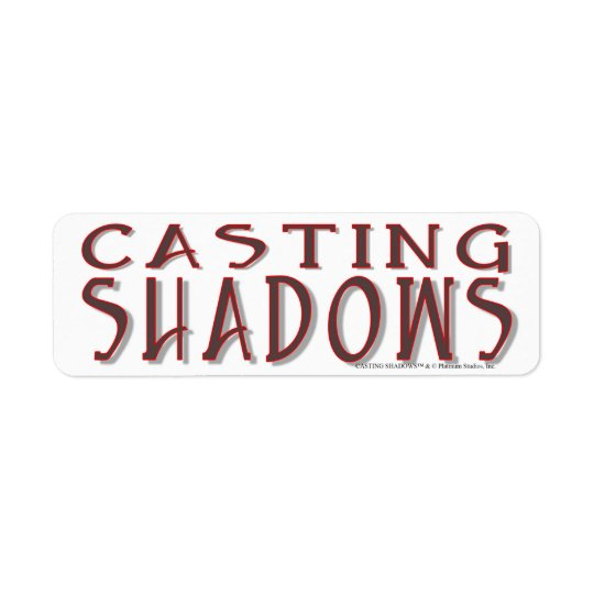 Casting Shadows - Platinum Studios Return Address Label