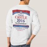 Castle 2016 Front & Back - Long sleeve tee