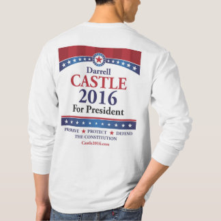 Castle 2016 Front & Back - Long sleeve tee