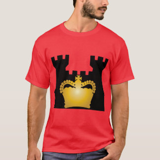 Castle and Crown - Royalty of Kings and Queens T-Shirt