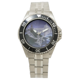 Castle And Dragon Classic Stainless Steel Watch